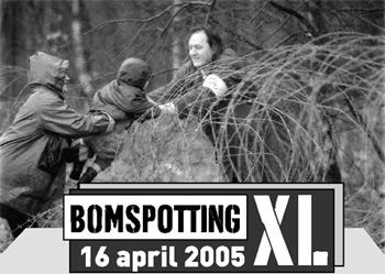 Bombspotting XL mainos