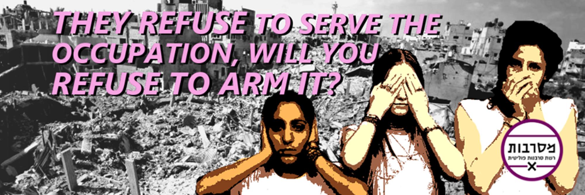 aseistakieltäytyjien tukibanneri