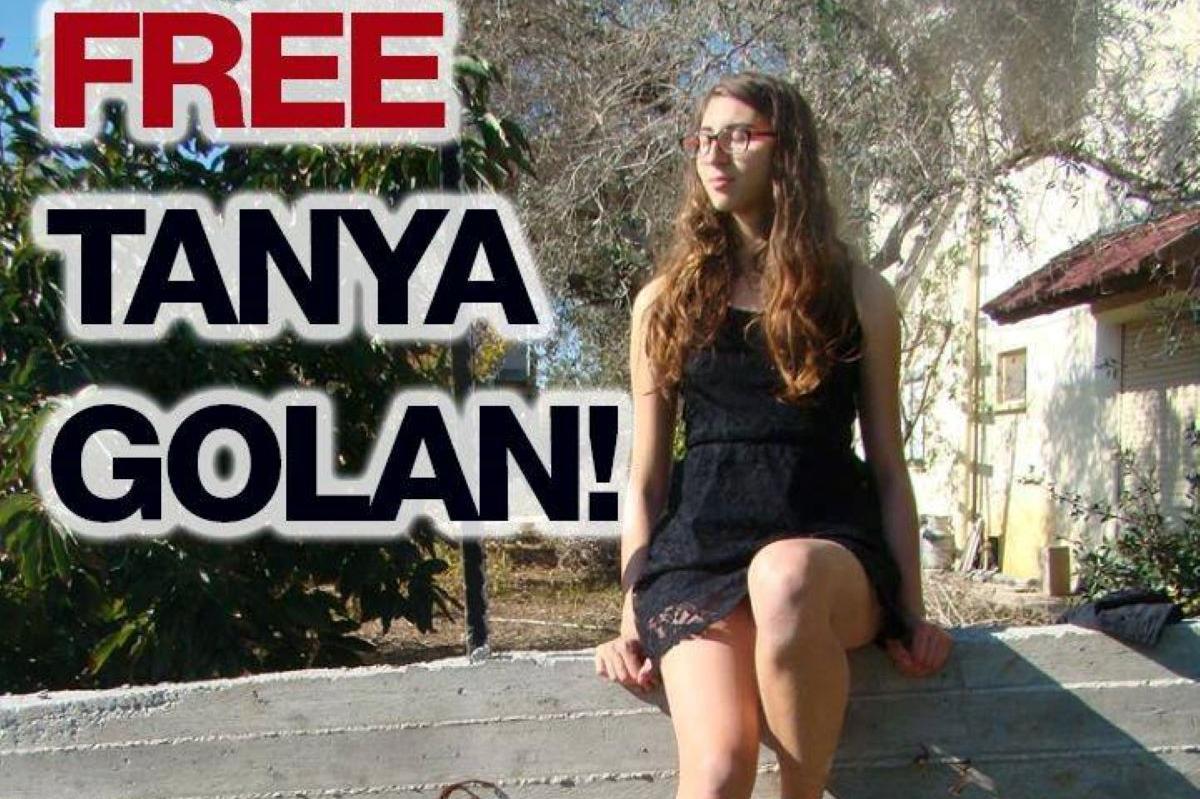 Tanya Golan, aseistakieltäytyjä