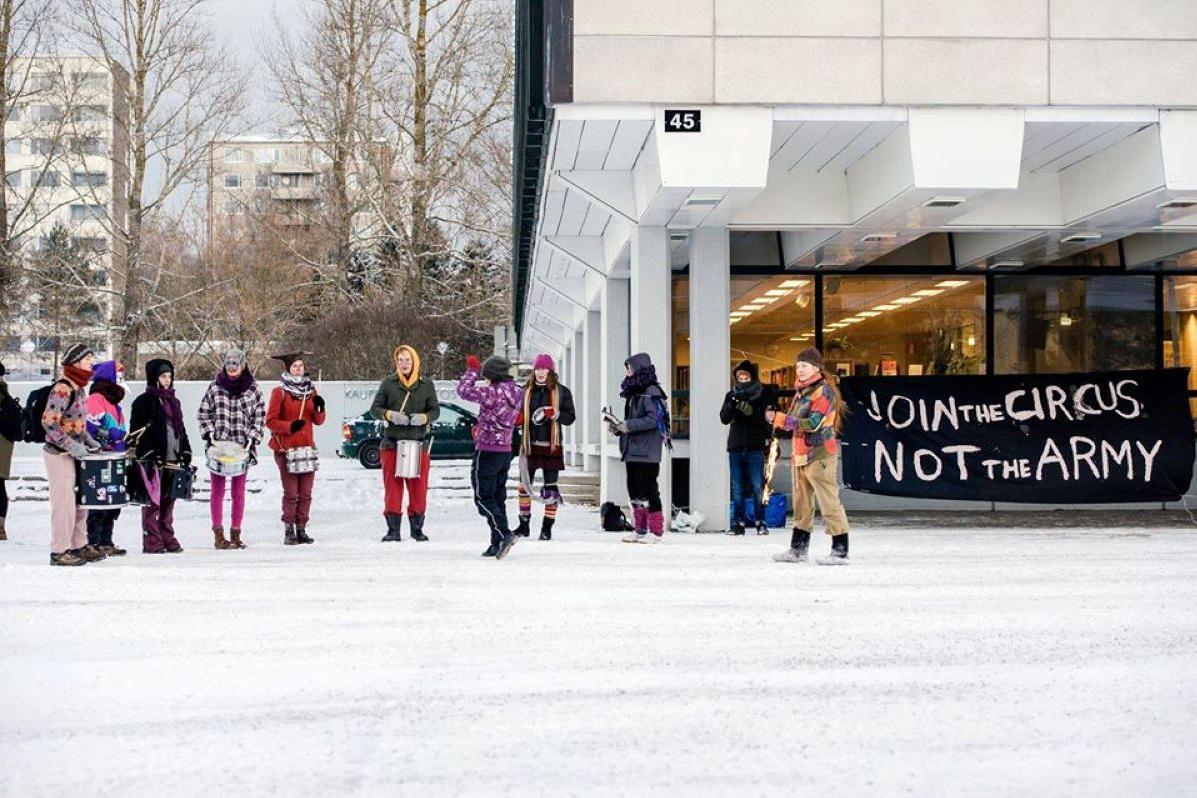 Kutsuntakampanja Tampereella