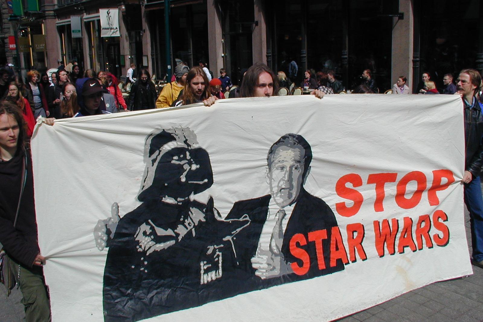 Tähtien sotaa vastaan