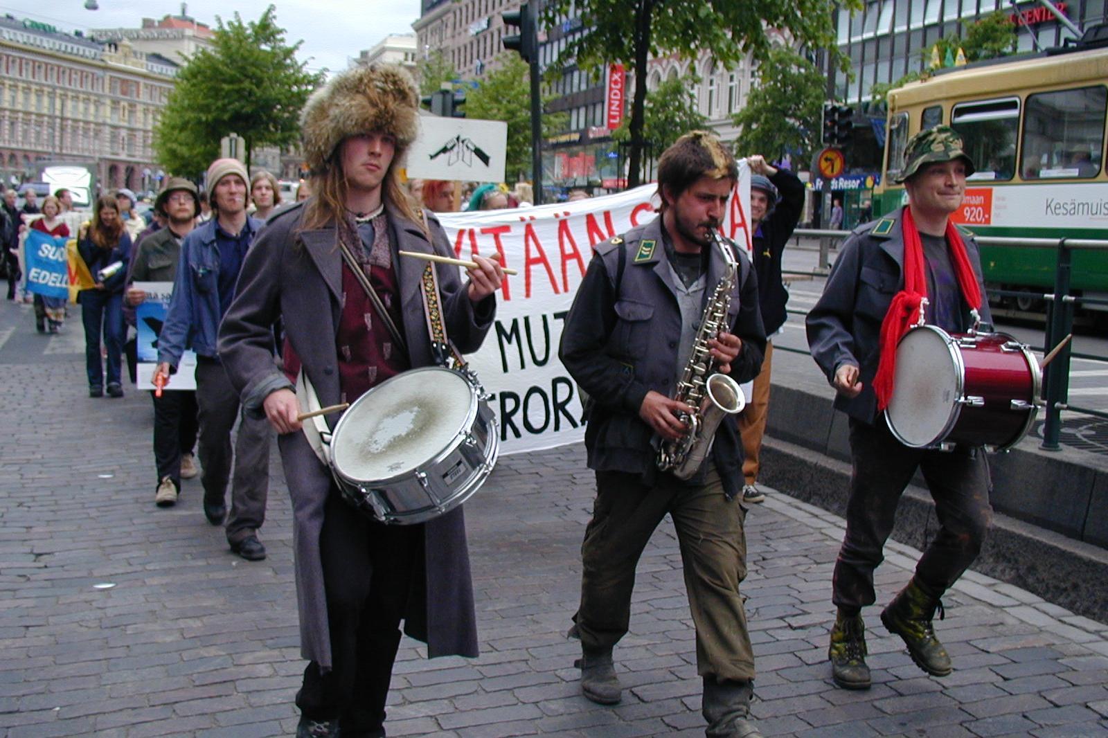 Ahmatti 2000 -kampanjan mielenosoituskulkue