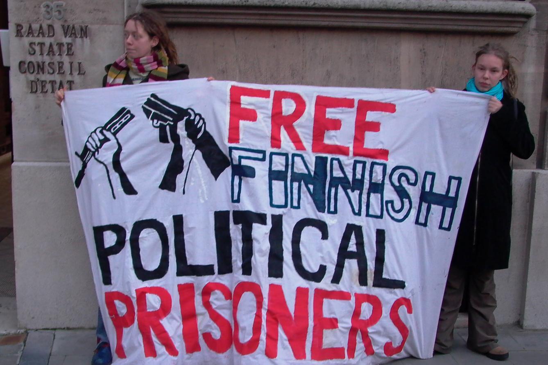 Mielenosoitus Brysselissä