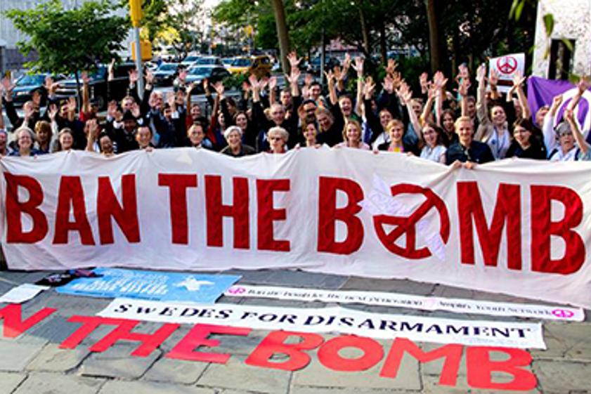 Mielenosoitus ydinaseita vastaan.